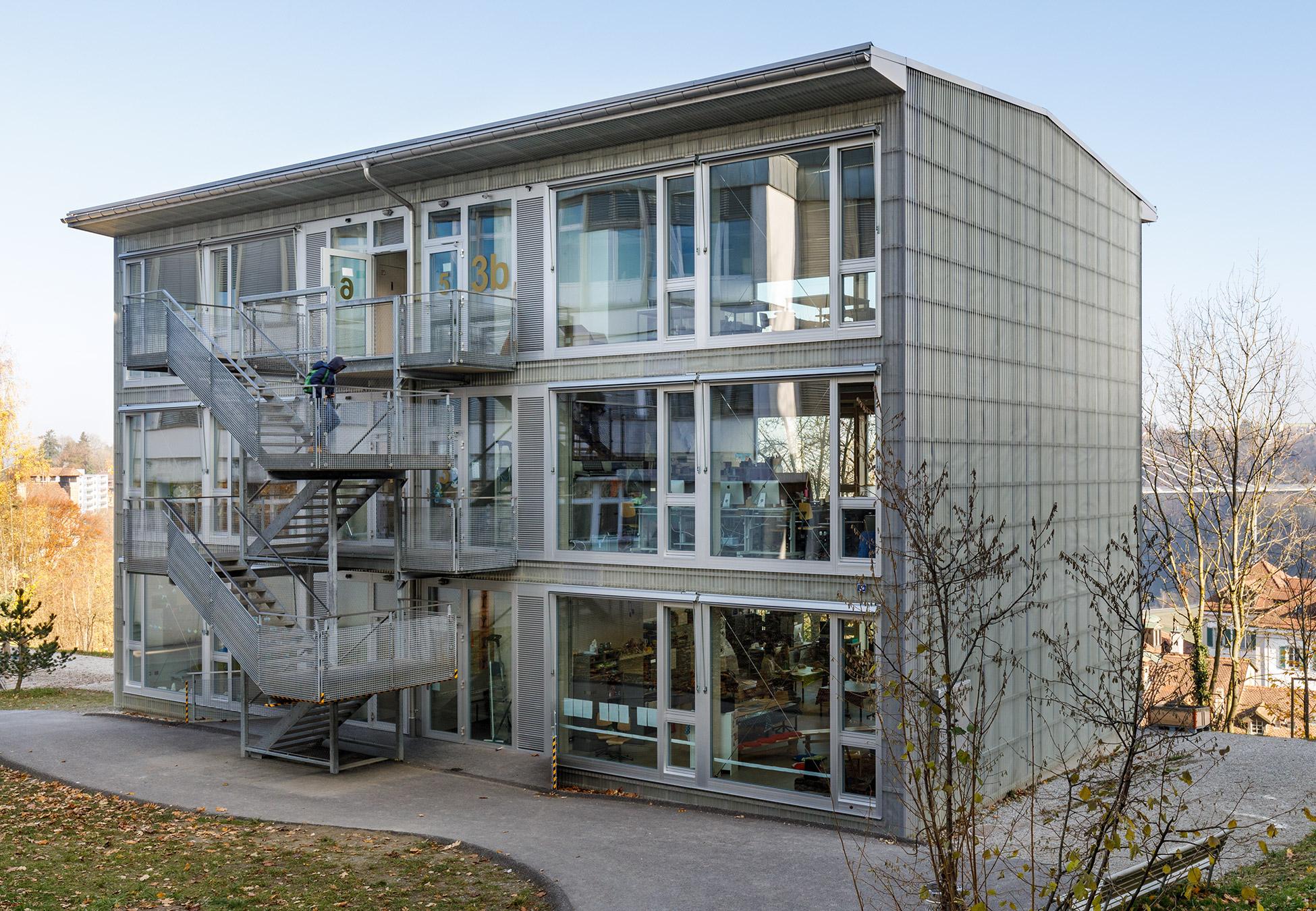 zwecke für einen pavillon schule